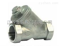 GL11W-16P/GL11W-16R不锈钢内螺纹过滤器