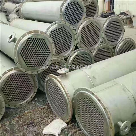 二手100平方不锈钢列管式冷凝器 换热器