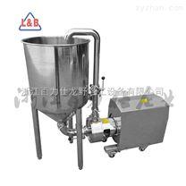 厂家直销循环带支架漏斗管线式高剪切乳化机 均质乳化泵 均质泵