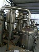 二手12吨强制循环不锈钢降膜蒸发器全套卖