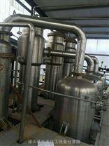 销二手6吨三效强制外循环降膜浆膜蒸发结晶器