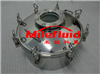 DN200-DN1000YAD圆形不锈钢人孔#YAD圆形不锈钢人孔生产标准设备